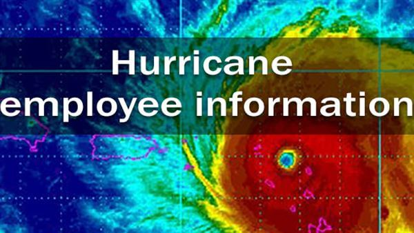 hurricane employee information